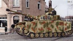 Pz.IV Ausf.H, 6.Komp.12/12.SS PZ Div. - Caen, Normandy - 7/6/44