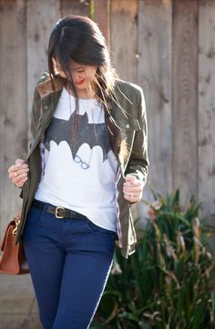 40 Sweet T-shirt Outfits for girls