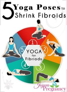 Top 5 Yoga Poses to Shrink Uterine Fibroids Naturally - #YogaPosesForUterineFibroids