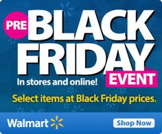 Select Walmart Black Friday Deals Available Now - http://www.northerncheapskate.com/select-walmart-black-friday-deals-available-now/