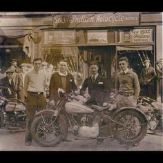 Old Indian Motorcycle Shop ----- **MORE Old Indian Motorcycles Pictures http://blog.lightningcustoms.com/old-indian-motorcycles ----- #indianmotorcycle #oldindianmotorcycles #indianmotorcycles