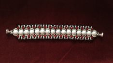 This bracelet is a YouTube tutorial By Francesca Piombino. I love making this bracelet so much, so you will see one more color combo for ...