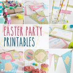 Free Easter Party Printables - A Typical English Home