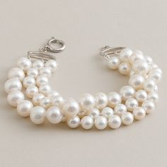 my sis recently bought me a necklace very similar to this one from the j.crew women's collection store. you can never go wrong with classic pearls.