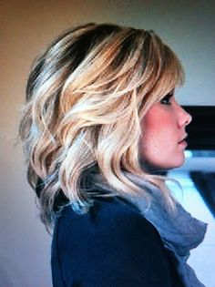 Try to make my hair look SOMETHING like this... BUT it never does... (miss my long hair for a moment but think of a small child who is enjoying a wig and my hair will grow) #wigsforkids #MyDayinStitchFix