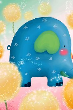 cartoon elephant | ... search title search home iphone 4 wallpapers cartoon elephant cartoon