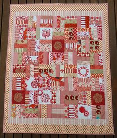 Red Patch Quilt