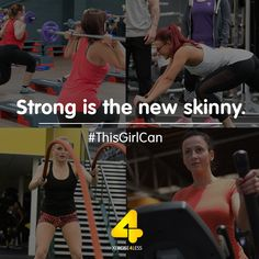 Strong is the new skinny. #ThisGirlCan