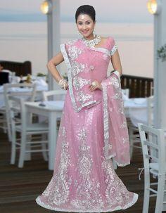 Designer Lengha Choli Embroidered