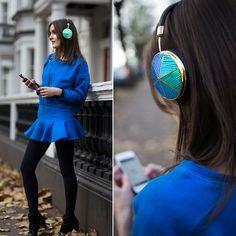Anouska Proetta Brandon - Frends Headphones, Choies Two Piece, Marks And Spencer Boots - Frends x RM | LOOKBOOK