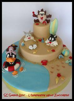Baby looney Tunes by Sc Sugar Art L'ingegnere nello Zucchero