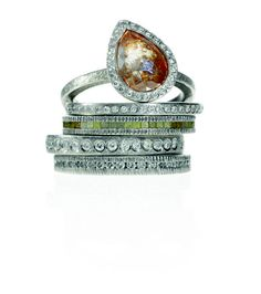 Todd Reed rings are perfect colored engagement rings!