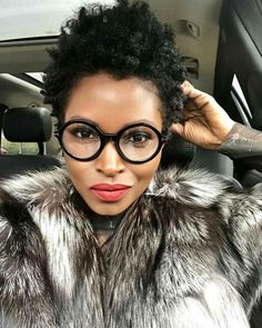 Glasses for Women: Designer Women's Eyeglass Frames & Premium Lenses My Hairstyle, Cool Hairstyles, Dreadlock Hairstyles, Hair Updo, Black Hairstyles, Wedding Hairstyles, Tapered Natural Hair, Tapered Twa, Curly Hair Styles