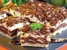 Cake with Chocolate and Pears Polish Recipes, Polish Food, Tiramisu, Food And Drink, Cooking Recipes, Favorite Recipes, Sweets, Chocolate, Baking
