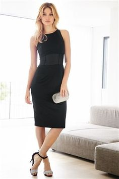 Black Dress ~ Something so sexy about a perfect little black dress like this one!