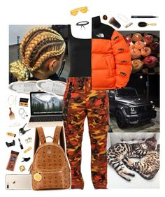 """""""Jan 21 🏌️♀️"""" by frezhstyle ❤ liked on Polyvore featuring Puma, Norma Kamali, Jemma Wynne, The North Face, Nadri, MAC Cosmetics, Apt. 9, MCM, Burt's Bees and Thelermont Hupton"""