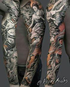 Tattoo by ig:henryanglas
