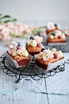 Financiers Raspberry Coconut @ Not Quite Nigella Coconut Recipes, Baking Recipes, Cake Recipes, Dessert Recipes, Cupcakes, Cupcake Cakes, Tea Cakes, Mini Cakes, Bolo Cake