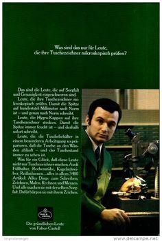 Original-Werbung/ Anzeige 1969 - FABER-CASTELL - ca. 180 x 240 mm