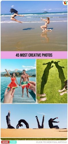45 Most Creative Photos - People Photography Photoshop For Photographers, Photoshop Photography, People Photography, Creative Photography, Illusion Photography, Photography Projects, Photography Tips, Actions Photoshop, Funny Photoshop