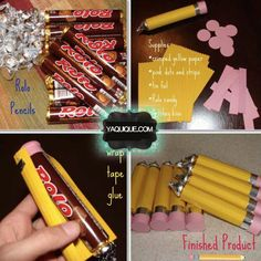 How to make Rolo or Candy Pencils, DIY Back to School gifts and treats. Sounds good for back to school treats. Back To School Party, School Parties, School Kids, Sunday School, Back To School Gifts For Teachers, Diy School, School Stuff, Middle School, Organizing School