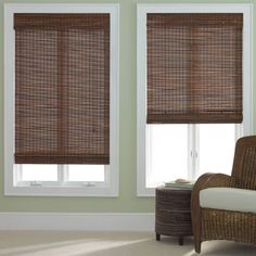 jcpenney - jcp home™ Bamboo Woven Wood Roman Shade - jcpenney