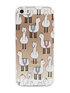 Skinnydip iPhone 5/5S Llama Case
