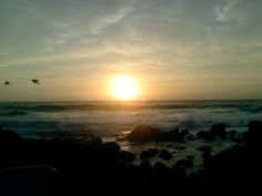 Port Edward, KZN. South Africa, Celestial, Sunset, Coffee, Places, Table, Outdoor, Kaffee, Outdoors