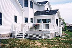 White House White Deck Railing - Yahoo Image Search Results