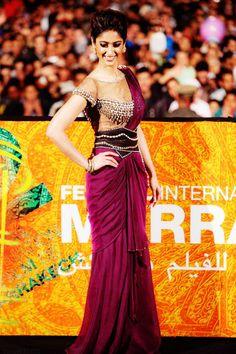 2012 Fashion Retrospective: Best Desi Outfits  Ileana D'Cruz in Marrakesh