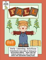 Preschool and Kindergarten Fall Activities