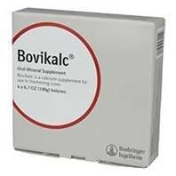 BOVIKALC BOLUS, Color: WHITE; Size: 4 COUNT (Catalog Category: Livestock Health Care:SUPPLEMENTS DAIRY & BEEF)  #Boehringer #Pet_Products
