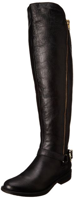 Black Steve Madden Women's Skippur Motorcycle Boot: Steve Madden: Shoes