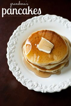 our daily obsessions: :: Food - grandma's pancakes