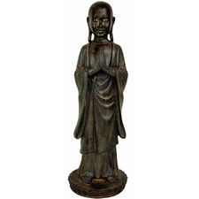 Standing Japanese Zen Monk Statue