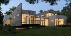 Impressionnante maison contemporaine à l'architecture minimaliste à St Louis, Usa   Construire Tendance   Scoop.it