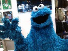 Cookie Monster.