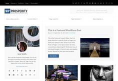 WP-Prosperity - Premium Responsive WordPress Themes