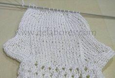 Como Fazer Meias lã baby - Innatia.com