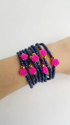 Romantic Bracelet friendship bracelet layered by TresJoliePT