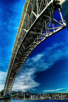 Seattle's Aurora Bridge  (HDR image by wildpianist)