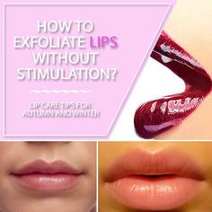 Different ways to exfoliate lips