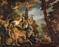 The Rape of Europa by Veronese Prado, Photography Illustration, Art Photography, Ancient Greek Religion, Madrid, Museum, Art Database, Caravaggio, Italian Art