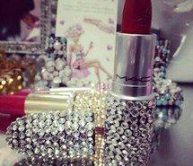 mac - ideas make-up 3ce Lipstick, Lipstick Tube, Lipstick Art, Sparkly Lipstick, Mac Lipsticks, Lip Art, Eyeshadows, Mac Makeup, Love Makeup