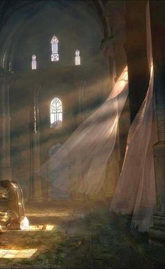 OK this could an old abandoned falling apart part of the castle before the remodel, so they use it as a holding place Abandoned Buildings, Abandoned Places, Fantasy World, Fantasy Art, Creation Art, Throne Of Glass, Fantasy Landscape, Story Inspiration, Belle Photo