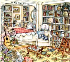 Undisturbed in the Study by Kim Jacobs