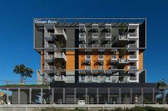 Dream Boxx condo  2011 – 2013  Condominium 79 Units 7 Storey Building + Swimming Pool ABAC Bang-Na | Samut-Prakarn  Project Architect : Thiti Thontavijit - See more at: http://www.quatrearchitect.com/project/dream-box/#sthash.7X2Gt5xH.dpuf