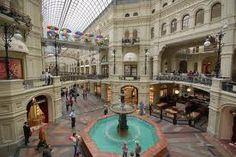 GUM - prettiest mall I've seen