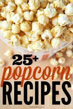 Such a great list of yummy popcorn recipes!