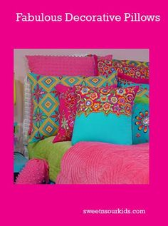 Decorate a teen girls room easily | Sweet and Sour Kids Blog